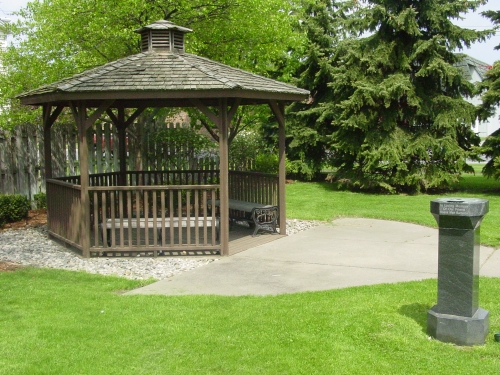 Barber School Gazebo